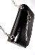 2WAY Chain&Belt 2set Mini Bag (black)