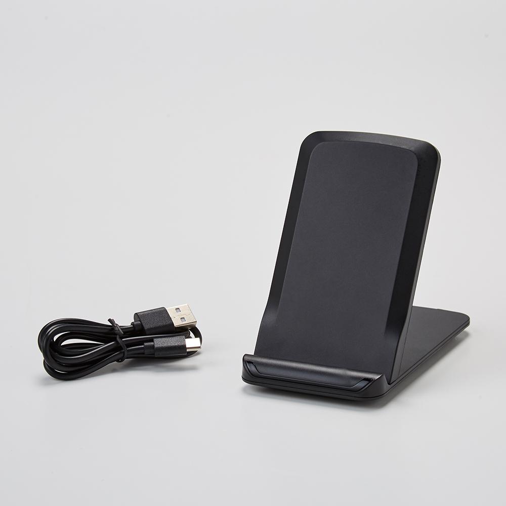 ワイヤレススマホ充電器スタンド型