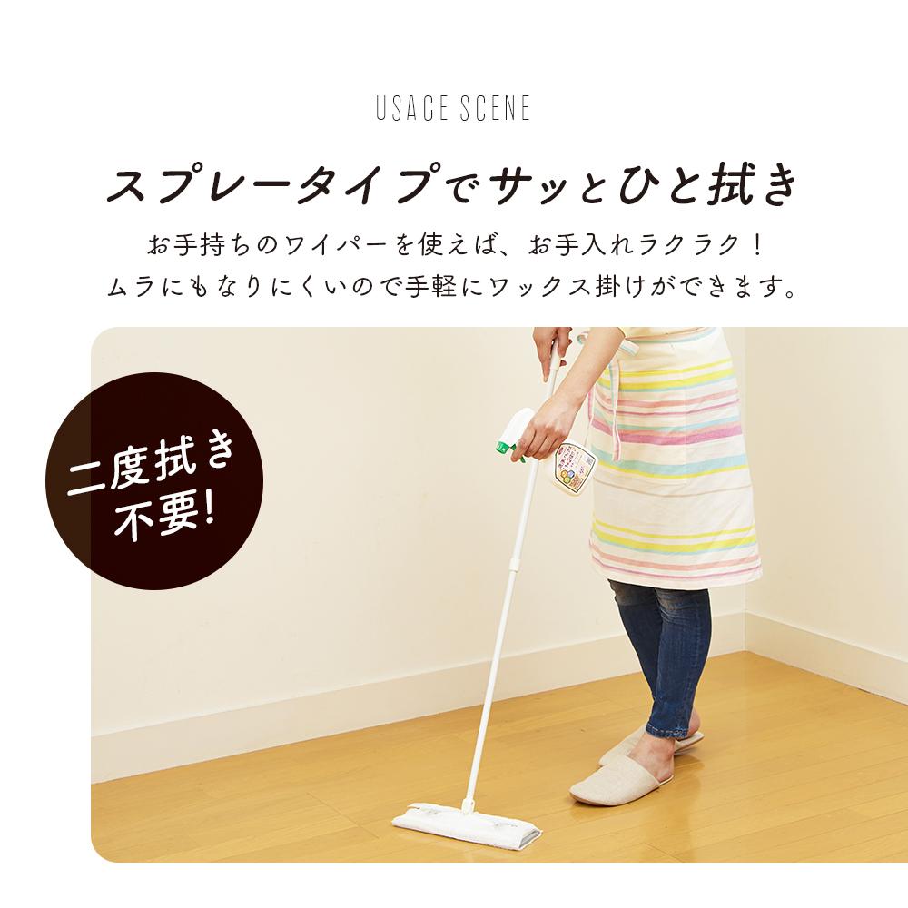 洗浄とワックス効果のクリーナー 300ml