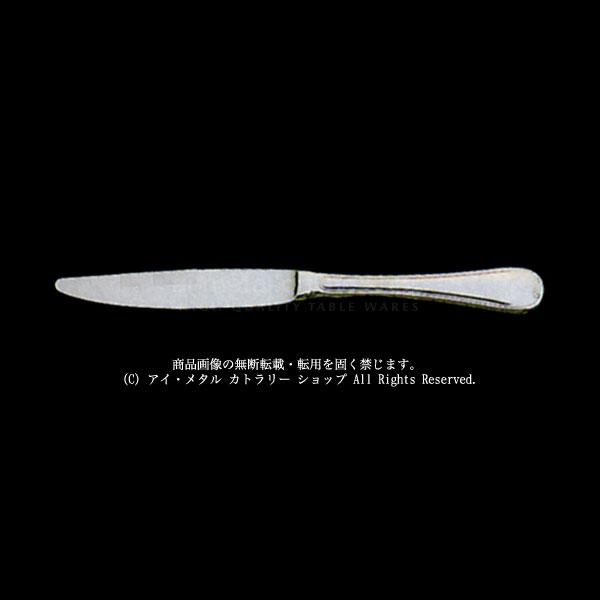LUCKYWOOD(ラッキーウッド)18-10 TIARA(ティアラ)デザート(ディナー)ナイフ(最中柄/鋸刃)
