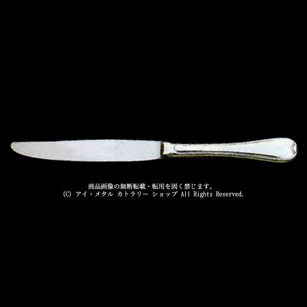 LUCKYWOOD(ラッキーウッド)18-10 TIARA(ティアラ)テーブル(ディナー)ナイフ(最中柄/鋸刃)