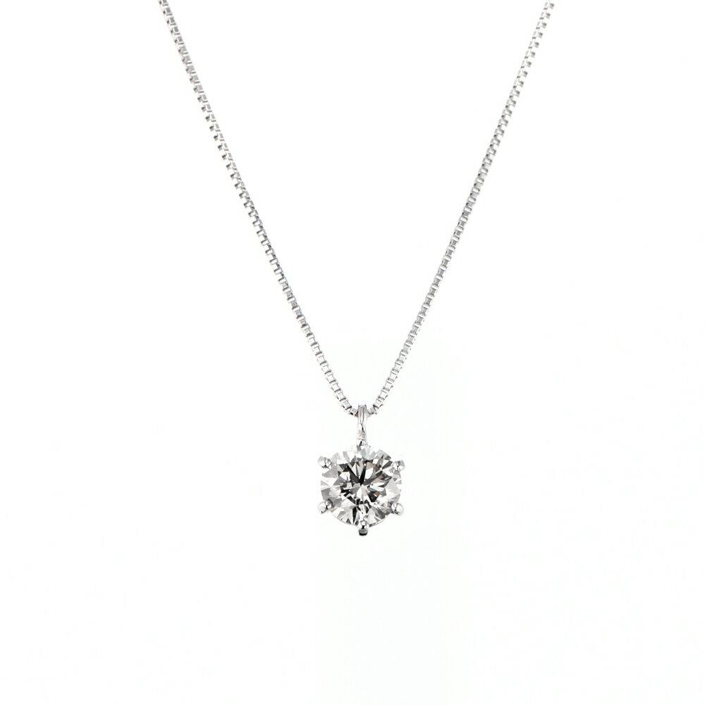 Pt900 ダイヤモンドH&C ネックレス