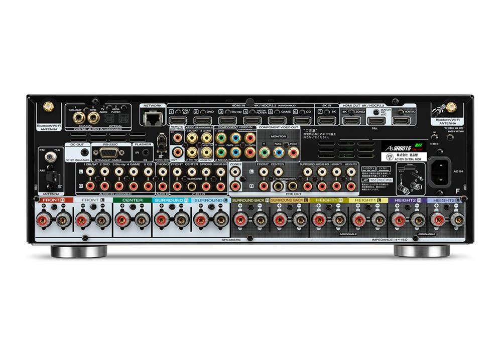 AIRBOW - SR6015 MAX Specialコンプリートパッケージ(9.2ch・AVサウンドレシーバー)