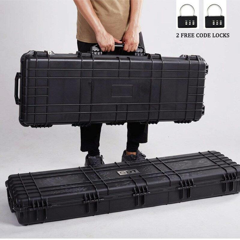 【同梱不可】SAA 実銃対応 ヘビーデューティーハードガンケース XL (サイズ:128.3cm×34.3×12.7)【配送業者指定:佐川急便限定】