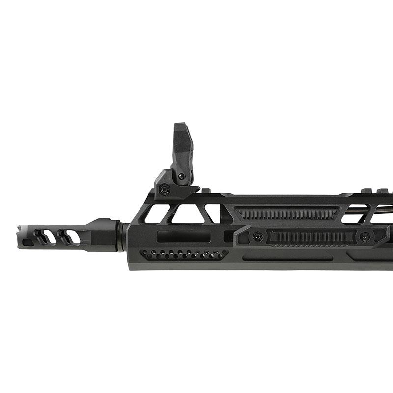 【同梱不可】 Double Eagle AR-15 Aeroknox×Ascend Armory Custom AEG (電子トリガー搭載/UTRシリーズ) ガンケース付 Black 【配送業者:佐川急便限定】