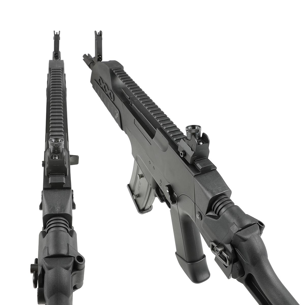 【同梱不可】 SRC H&K XM8-CU フルサイズ電動ガン NV Black (JP Ver.) 【配送業者:佐川急便限定】