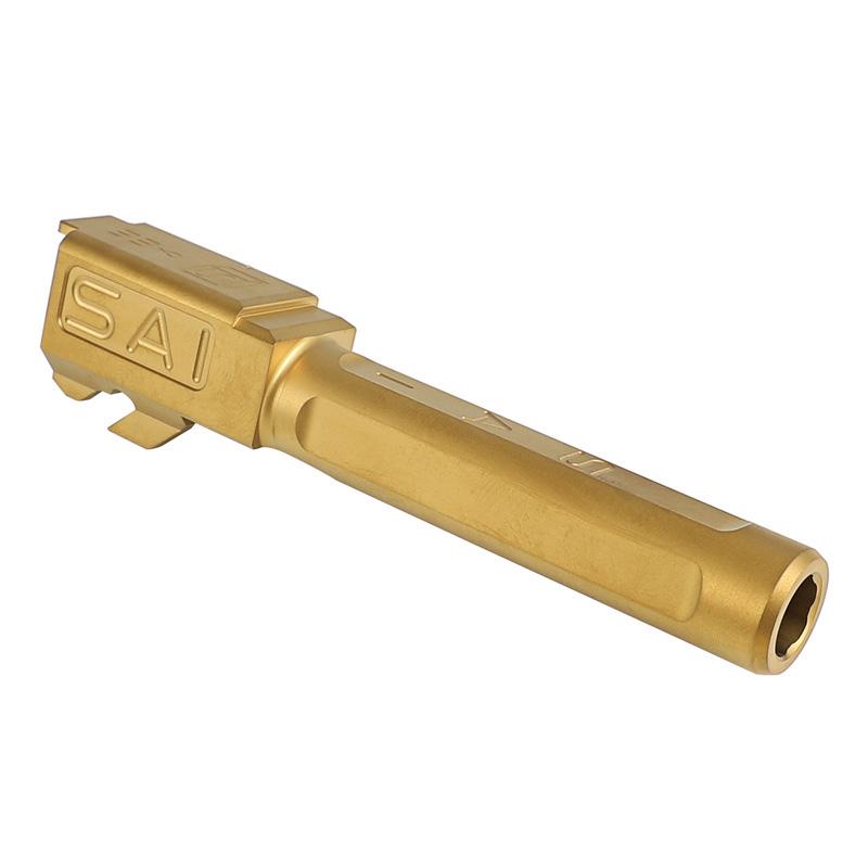 Guns Modify Glock19 SAI Tier Oneスタイルアルミスライドセット (Goldバレル/東京マルイ対応)