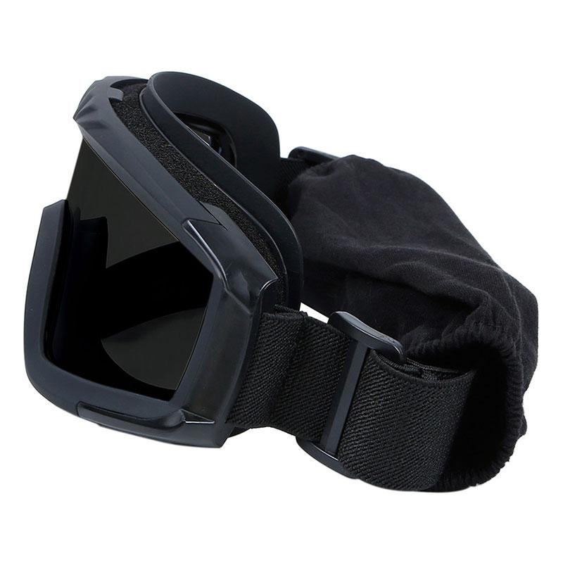 WoSporT デザートストームゴーグル レンズモデル(3色レンズ付属) BK
