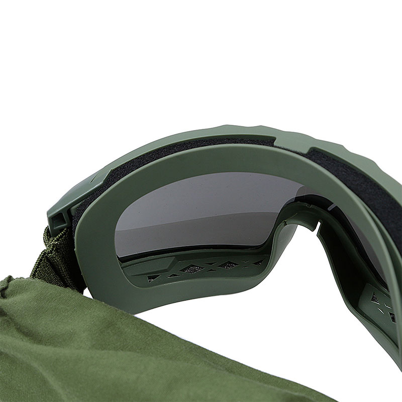 WoSporT デザートストームゴーグル レンズモデル(3色レンズ付属) OD