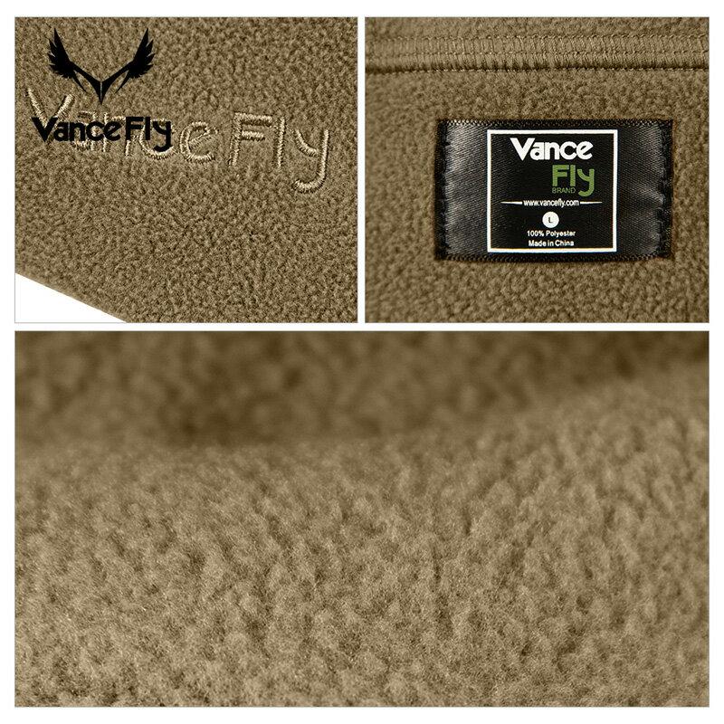 VanceFly フリースイヤーフラップハット Black