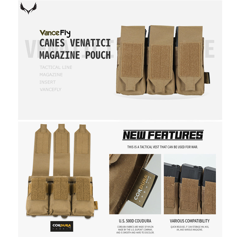 VanceFly Canes Venatici マガジンポーチ Coyote