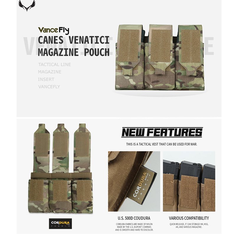 VanceFly Canes Venatici マガジンポーチ Multicam