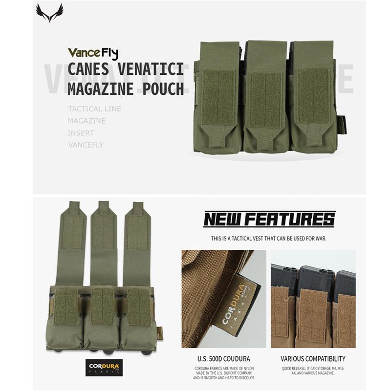 VanceFly Canes Venatici マガジンポーチ Ranger Green