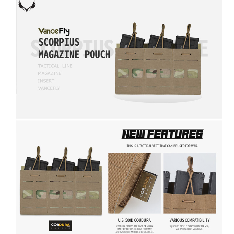VanceFly Scorpius マガジンポーチ Multicam