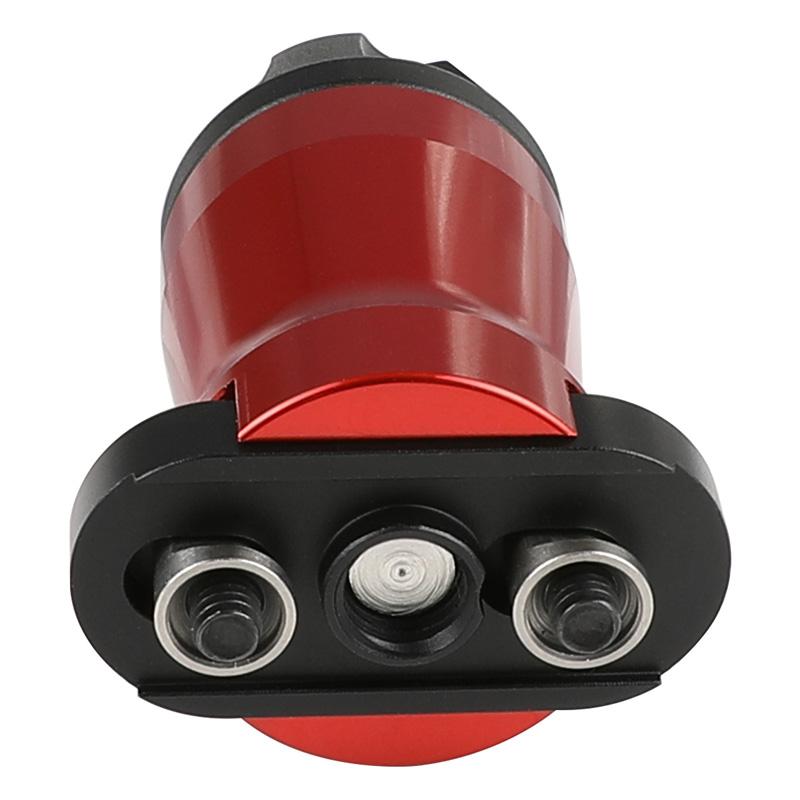 SAA Samson Evolutionタイプ スタビーバーティカルグリップ (KeyMod) RED