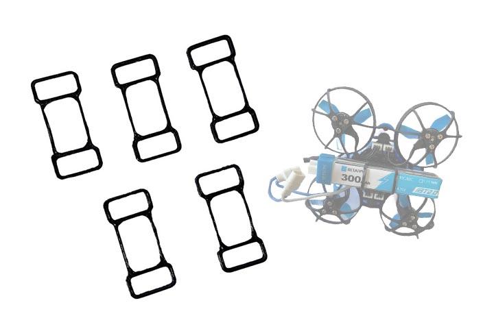 AIRSTAGE BETAFPV 65x HD用 バッテリーバンド【選べるカラー】