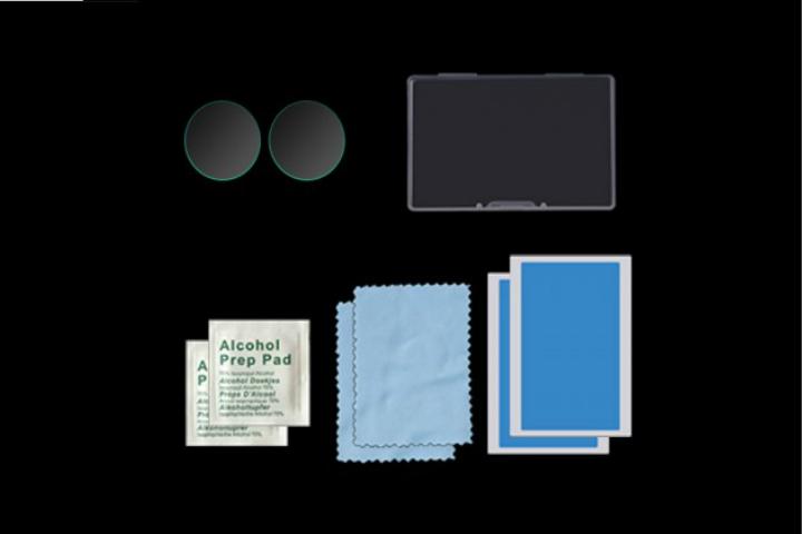 Nancy  Insta360 ONEX2 フィルムHD強化保護ガラス 2Pacs