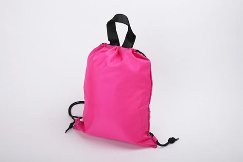 ランドリーバッグ ピンク