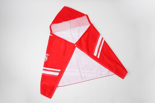 フード付バスタオル