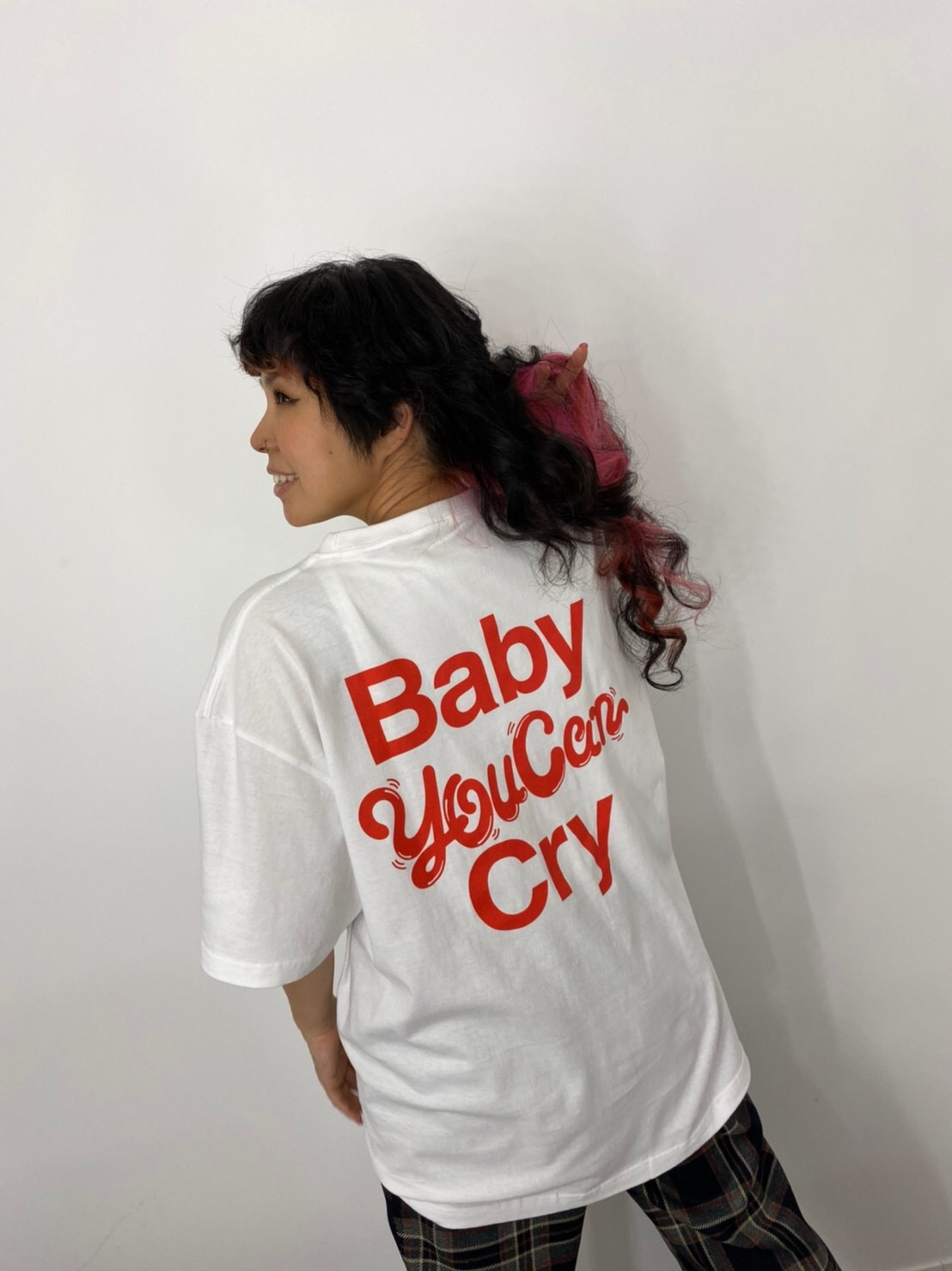 Baby you can cry Tee(ホワイト)