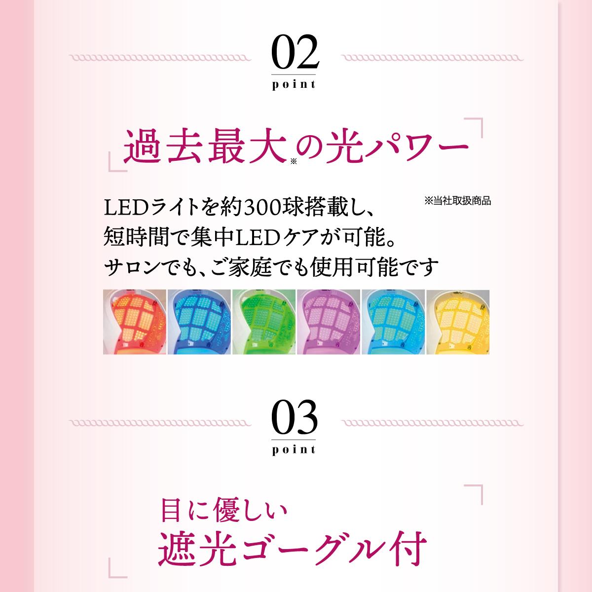 【プレミア】 LED美容ライト