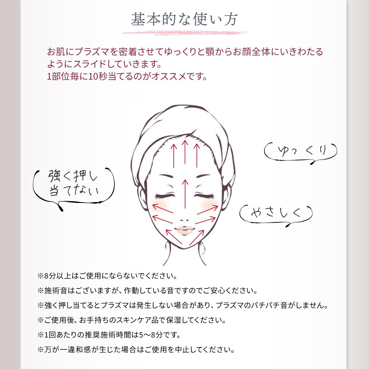 リンカ クリアズム プラズマ導入美顔器