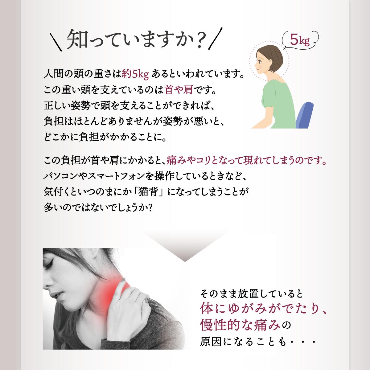 【LINKA】リンカ ネックリラックスピロウ 揉み玉×4