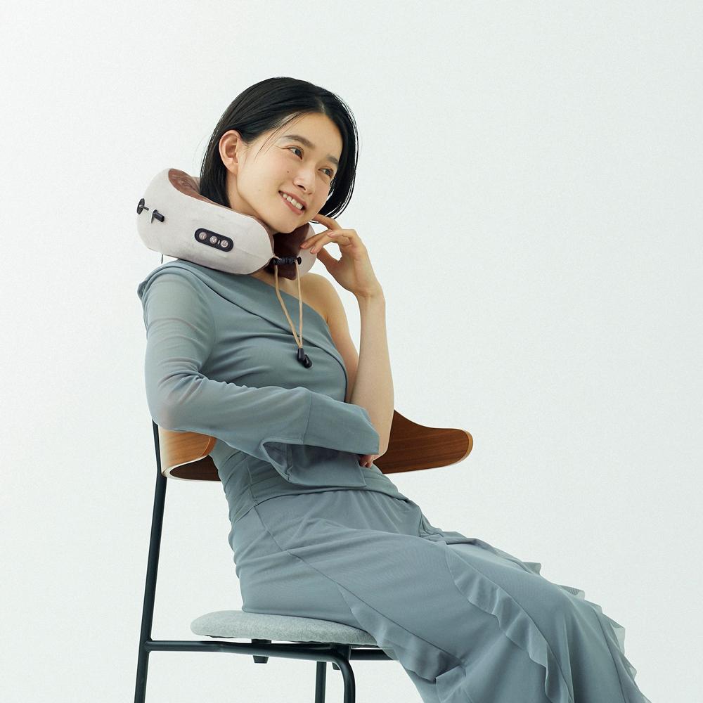 【LINKA】リンカ ネックリラックスピロウ 揉み玉×2