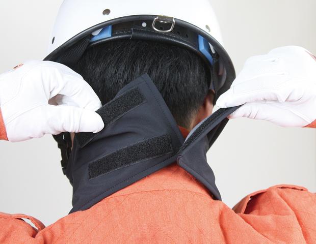 日本製 水を含みにくく防風性に優れた素材 ウインドストッパー ネックウォーマー 開閉式 AK products DEVA【防寒/スポーツ/バイク】