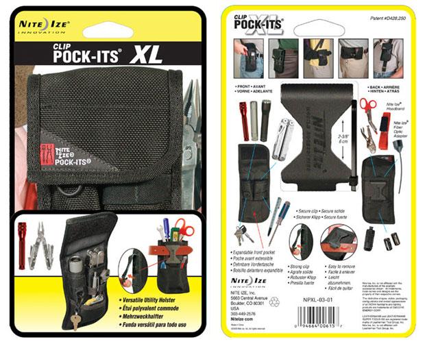 NITEIZE POCK-ITS XL ナイトアイズ ポケッツXL NPXL-03 ウエストポーチ ギアホルスター シザーケース
