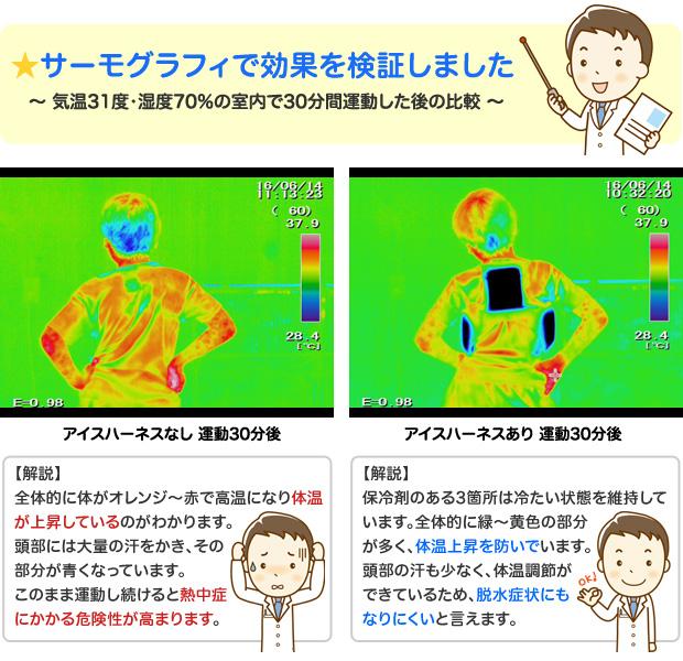 こども用 暑さ対策 熱中症対策グッズ 冷却ベスト アイスハーネス キッズ 保冷剤3個付きセット
