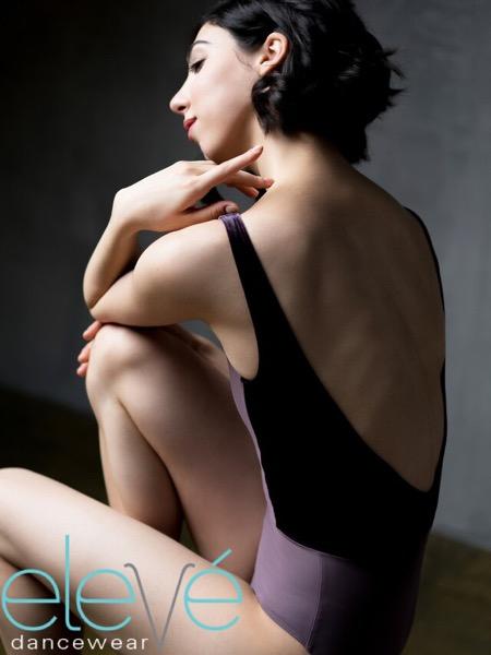 【eleve】 Allison Velvet  レオタード