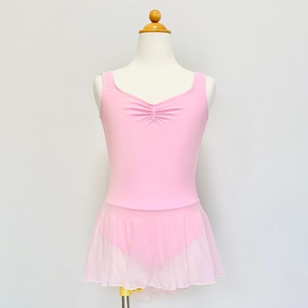 【バレエローザ】COSETTE コゼット スカート付き 子供用 レオタード