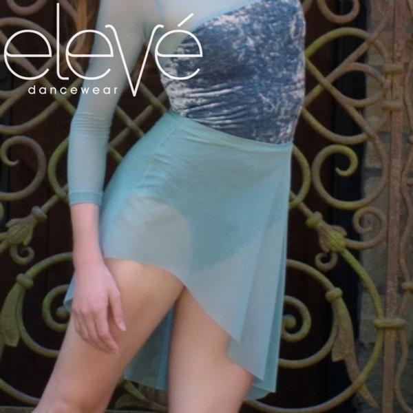 【eleve】 Asymmetrical Short Skirt Moonstone  スカート