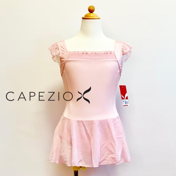 【カペジオ】11498c キラキラ スカート付き レオタード