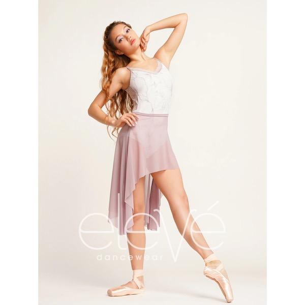 【eleve】Short Dragonfly Skirt Light Nirvana Mesh スカート