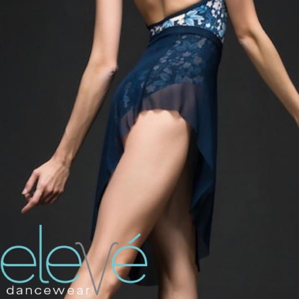 【eleve】 Asymmetrical Short Skirt スカート