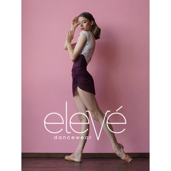 【eleve】Gathered Short Skirt Sangria スカート