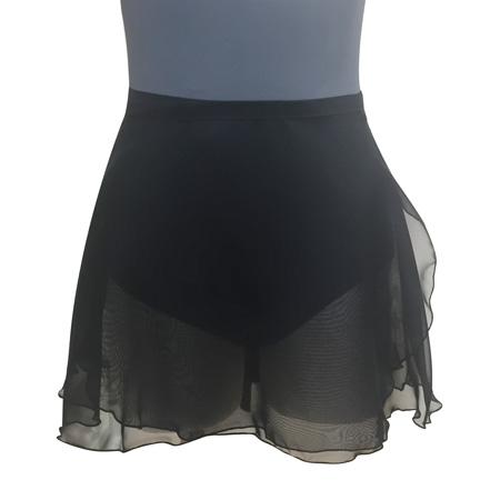 【ボンジュバレリーナ】A1型 巻スカート ジョーゼット