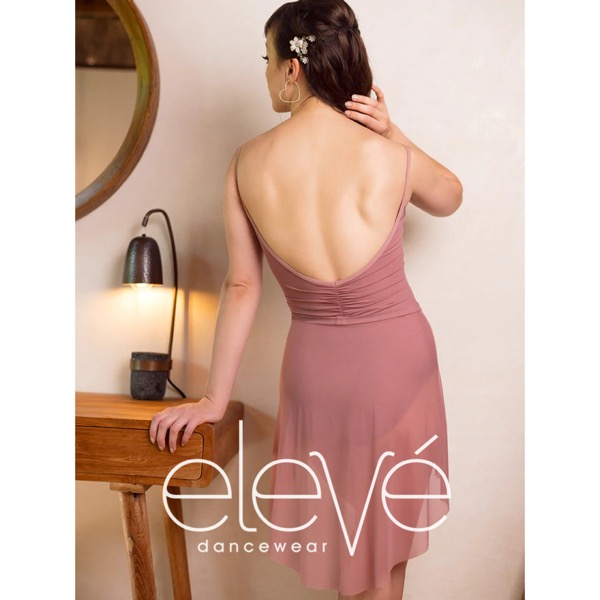 【eleve】Mid High-Low Skirt Quartz Mesh スカート