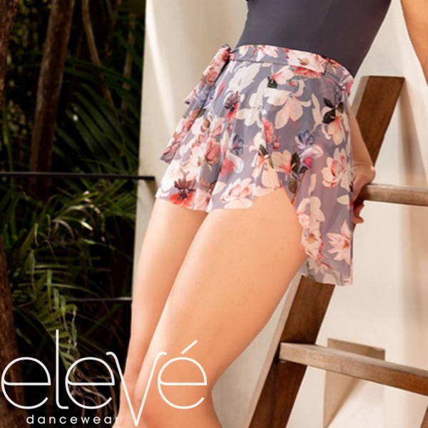 【eleve】Petal Skirt Sugar Plum Mesh スカート