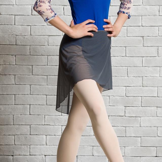 【バレエローザ】STELLA ステラ ストレッチチュール 巻きスカート