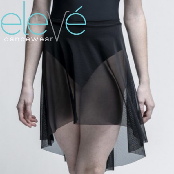【eleve】Long High Low Mesh スカート