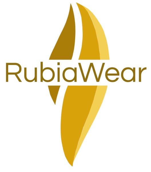 【Rubia Wear】 フル レッグウォーマー Track ベージュ系ボーダー 大人用