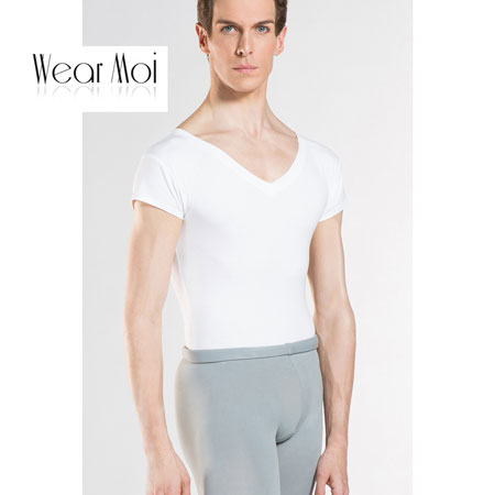 【ウェアモア】Mens HAXO アクソ メンズ バレエTシャツ 男子用