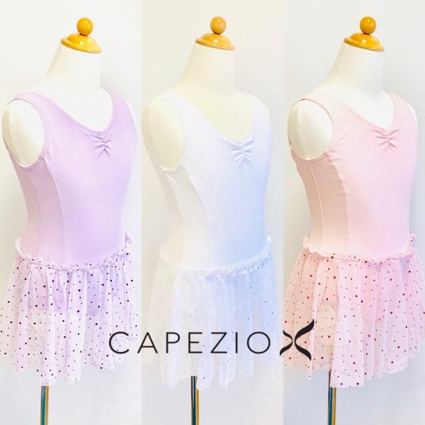 【カペジオ】 11532C スカート付き タンクレオタード
