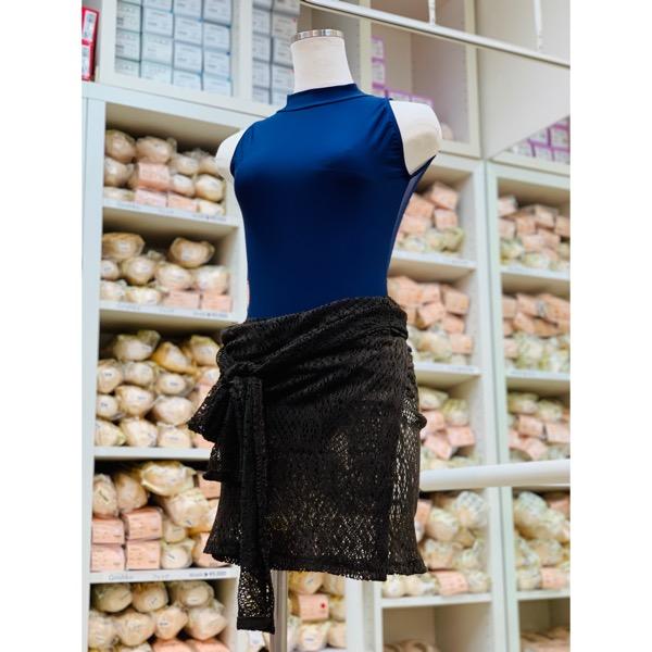 【ラ・カシェット・アパルトマン】腰巻きスカート YUMOJI ユモジ