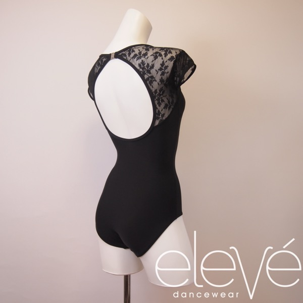 【eleve】 Christina Black Lace  レオタード