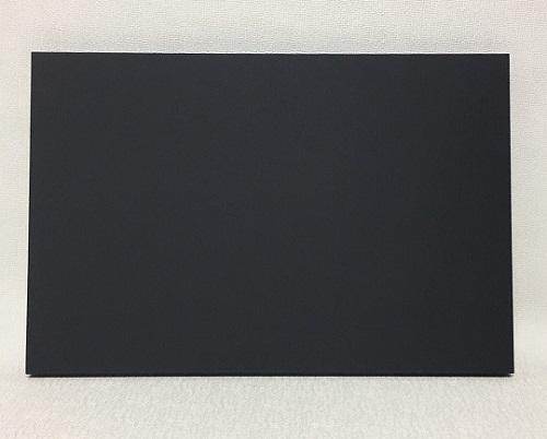チョークボード(木製)黒色/ 60cm x 60cm x 厚み2cm  重さ約1.5kg