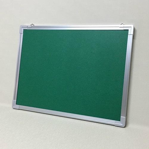 ピン・マグネット兼用掲示板 グリーン色 / タテ90cm x ヨコ180cm x 厚み2.5cm/重さ約15kg
